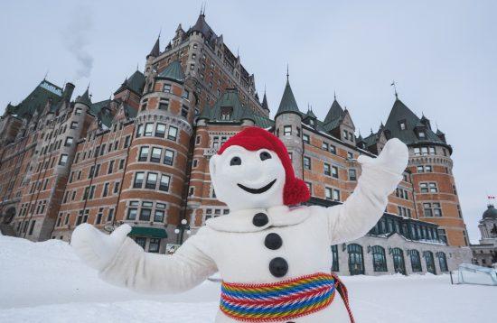 Quebec Winter Carnival Bonhomme